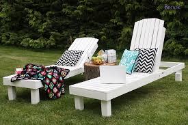 diy lounge furniture. White Wood Lounge Chairs For Backyard Diy Furniture H