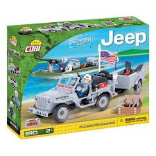 <b>Конструктор COBI</b> 24193 Джип <b>Jeep Willys</b> MB Navy — купить в ...