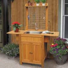 exterior sink ideas. outdoor sink cabinet exterior ideas o