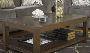 cattle creek coffee table with rack by loon peak review