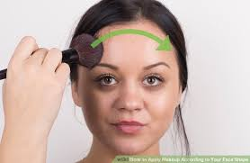 image led apply makeup according to your face shape step 4