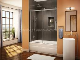 custom frosted glass shower doors cost