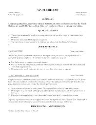 Simple Job Resume Samples Resume Samples For First Job First Job