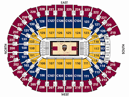 Quicken Loans Arena Seating Chart Cavaliers Best Of Cavs Seating Chart By Seat Number Cocodiamondz Com