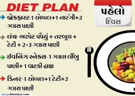 Gujarati Diet Chart For Weight Loss 7 Days Gm Diet Plan For Weight Loss And Its Benefits 1