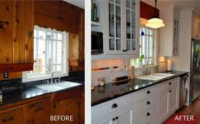 Kitchen Remodel Cabinets Exterior Painting