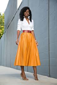 shirt available here or here skirt zara i don t see it try here here in 4 colors or there 2 colors shoes gianvito rossi here on