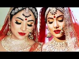 komolika hina khan bridal look indian bridal makeup tutorial hindi you
