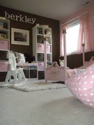 Pink And Brown Bedroom My Daughters Pink And Brown Little Girls Princess Room Playroom