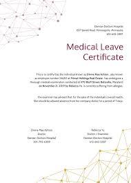 28 Medical Certificate Templates In Pdf Free Premium Templates
