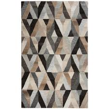 rizzy home suffolk multicolor geometric 9 ft x 12 ft area rug sufsk337a33550912 the home depot