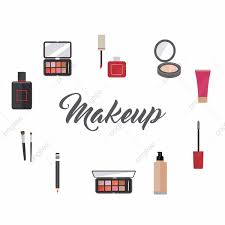 Design Makeup Products Makeup Artist Tools And Beauty Products Makeup Vector
