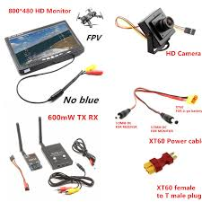 aliexpress com buy rc fpv combo system 5 8ghz 600mw transmitter rc fpv combo system 5 8ghz 600mw transmitter receiver no blue monitor 800tvl camera dji phantom