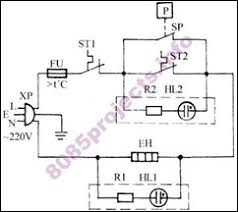 electronic circuits 8085 projects  blog archive automatic automatic electric pressure cooker circuit insulation