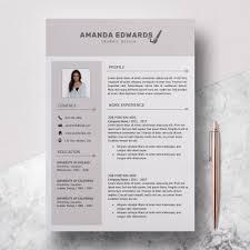 Modern Resume For Restaurant Template Microsoft Word Cv Template Free Modern Resume