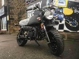 monkey bike zhenhua 125cc 2018 matte