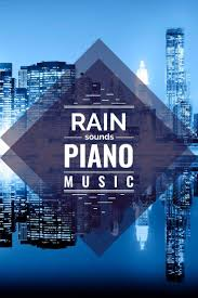 Bright Lights And Cityscapes Piano 9 Hours Of Romantic Piano Music Rain Sounds Yoga Music