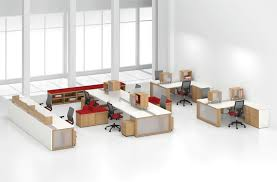 open office cubicles. Fine Open Open Plan Benching Intended Office Cubicles