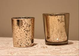 Diy Gold Candle Holders Gold Mercury Glass Votive Gold Mercury Glass Votive Candle