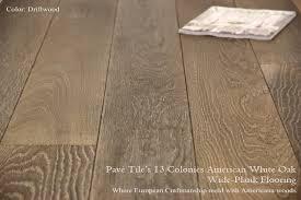 13 colonies wide plank american white oak flooring