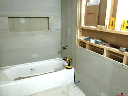 sheetrock for shower cement board over drywall drywall and cement board for the downstairs bathroom blog