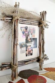 Diy Rustic Frame Diy Rustic Photo Frame Made With Twigs