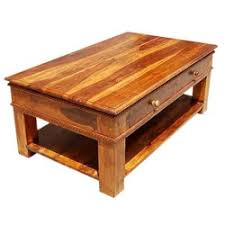 Great Classic Solid Wood Carved Border 2 Tier Coffee Table 2 Storage Drawers Awesome Design