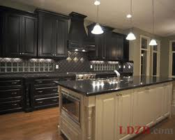 Distressed Kitchen Furniture Distressed Black Kitchen Cabinets