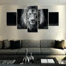 lion wall decor rampant