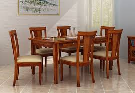 dining table set price in kerala. mcbeth 6 seater dining set (honey finish) table price in kerala a