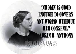 Susan B Anthony Quotes Delectable Woman Without Here Consent By Susan B Anthony Quote Parryz