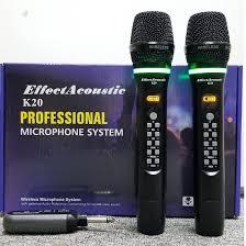 Mic Karaoke không dây Effect Acoustic K20 - Điện tử Linh Anh