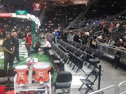 Fiserv Forum Courtside Basketball Seating Rateyourseats Com