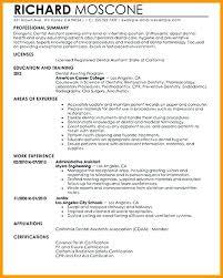 Dental Assistant Resume Skills Best Medical Assistant Resume Resume