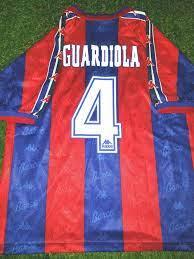 Guardiola Barcelona 1996/97 Home Jersey - GOATDESIRE