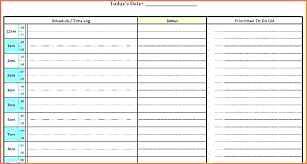 Blank Schedule Printable Daily Planner Template Free Blank Schedule