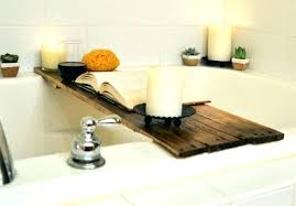 over tub caddy over the tub bathtub large size of wine holder bath wood