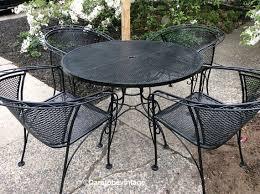 salterini outdoor furniture. Sold Mid Century Salterini Russell Woodard Wrought Iron Patio Set Furniture Outdoor N