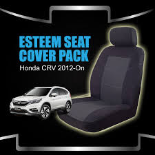 custom made seat covers honda cr v 11 2016 6 2017 airbag deploy safe front rear