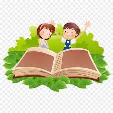 reading book cartoon clip art cartoon children