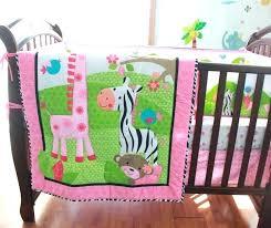 zebra crib bedding set zebra crib bedding set pink cotton embroidery bird flowers zebra giraffe baby zebra crib bedding