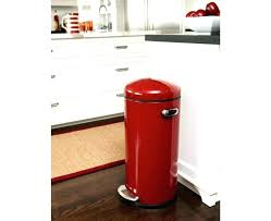 metal kitchen trash can square garbage cans kitchen garbage cans big trash cans for kitchen trash
