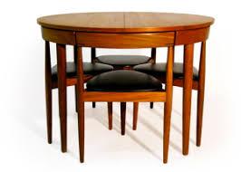Extended Hans Olsen Table Frem Rolje Table Set ...