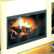 fireplace glass door replacement fireplace door replacement glass replace doors comfortable with regard to fireplace glass