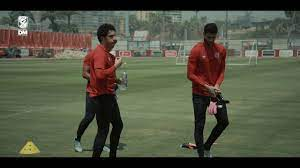 عودة محمد الشناوي وأيمن أشرف لتدريب الأهلي اليوم بالتتش - YouTube