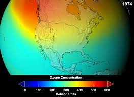 ozone depletion essay good news the hole in the ozone layer is  ozone depletion nasa projections of stratospheric ozone concentrations if chlorofluorocarbons had not been banned