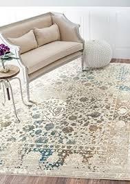 persian rugs 6495 cream 8x10 distressed area rug carpet large new wantitall