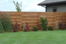 wood privacy fences. Horizontal Wood Privacy Fencing. Fences