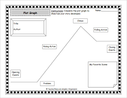 Story Plot Chart Worksheet 9 Plot Diagram Template Sample Example Format Download