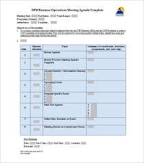 22 Meeting Schedule Templates Docs Excel Pdf Free